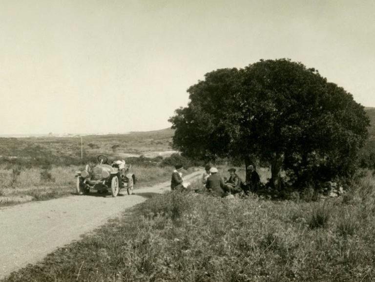 Una strada a Baunei, ca. 1910