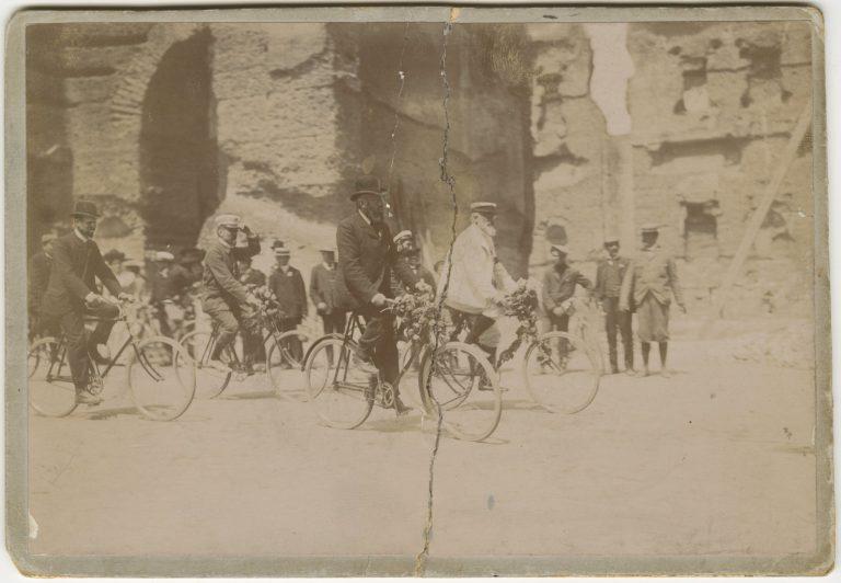 Gita TCI in bici da Milano a Roma, 1905
